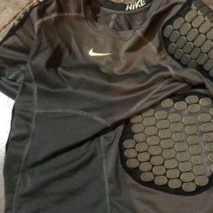 Nike pro padded football shirt